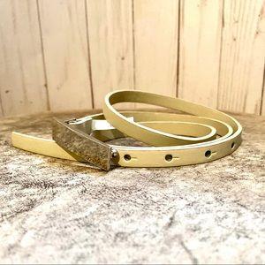 NWOT - Calvin Klein Skinny Leather Belt